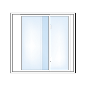 5500 2 Lite Slider Window