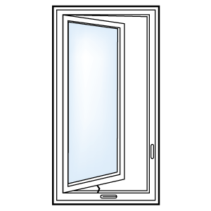 5500 Casement Window