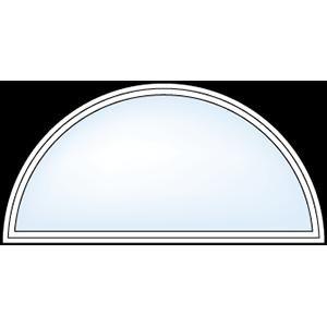 5500 Geometric Half Round