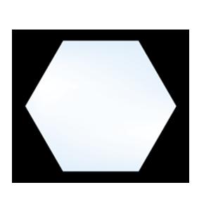 5500 Geometric Hexagon